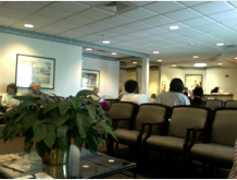 Surgical center waiting room