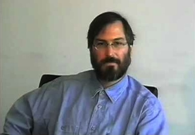 Steve Jobs wearing denim