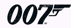 The 007 trademark of James Bond