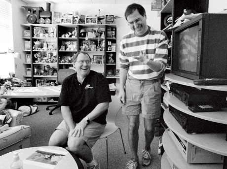 Steve Jobs with John Lasseter