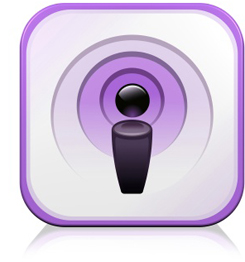 Podcast icon or app iamge