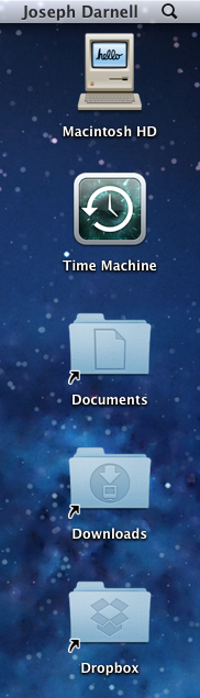 Folders on my Desktop